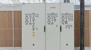 Tableau électrique pour serre tableau divisionnaire